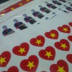 Ưu điểm của in decal sticker giấy màu